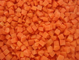 Замороженная морковь